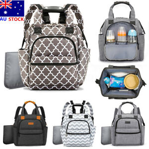 Details About Multifunction Mummy Diaper Bag Ny Backpack Newborn Baby Changing