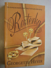 ROZTERKA GEORGETTE HEYER POLISH ROMANCE PO POLSKU BOOK KSIAZKA - LIKE NEW