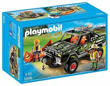 PLAYMOBIL Adventure Pickup Truck Building Kit