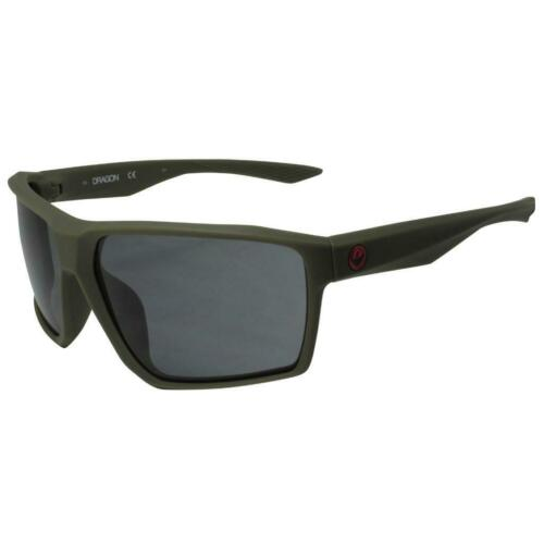 Matte Dark Olive Frame with Smoke Lens 32688-318 Dragon Tenzig Sunglasses
