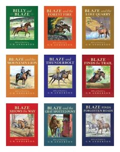 NEW Billy and Blaze Collection Set of 9 Boxed Paperback Books C. W. Anderson Lot
