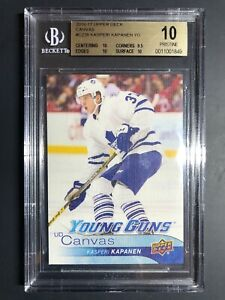 2016-17-Upper-Deck-Kasperi-Kapanen-Young-Guns-Canvas-Rookie-BGS-10