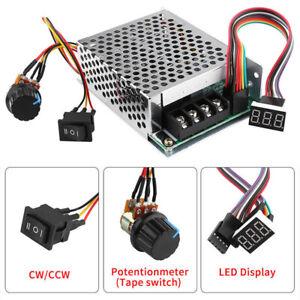 DC10-55V-12V-24V-36V-60A-PWM-Motor-Speed-Controller-CW-CCW-Reversible-Switch-Set