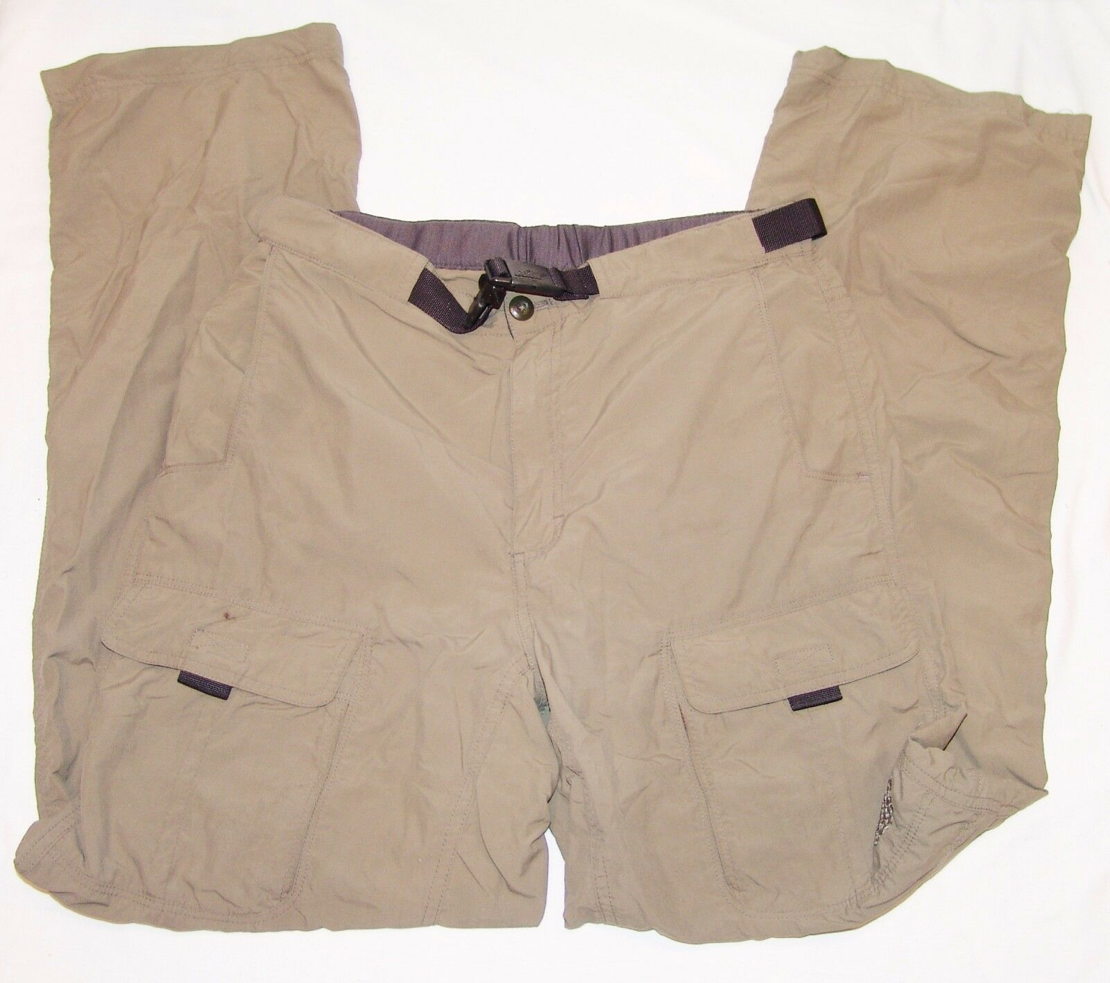 Eastrn Mntn Sprts Khaki Mountain Sports Mens Hiking Pants 30R 30 Regular Nylon