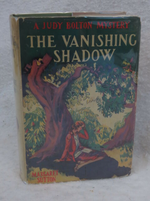 Margaret Sutton THE VANISHING SHADOW 1932 HC/DJ Early Printing Grosset & Dunlap
