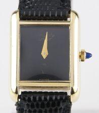 Vintage Must de Cartier 18k Yellow Gold Electroplated Women's Quartz Watch