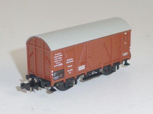Minitrix 3534 DR gedeckter Güterwagen Gr Kassel 85 310 OVP  Spur N