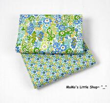 Beautiful Vera Bradley Fabric (English Meadow) —— 2 Matching Fat Quarters