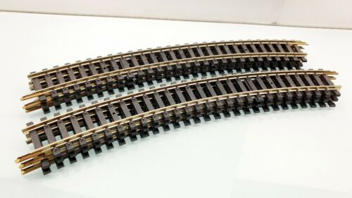 28 TRAVERSE TRAIN ELECTRIQUE HO JOUEF 6 RAIL COURBE RAYON 385 mm