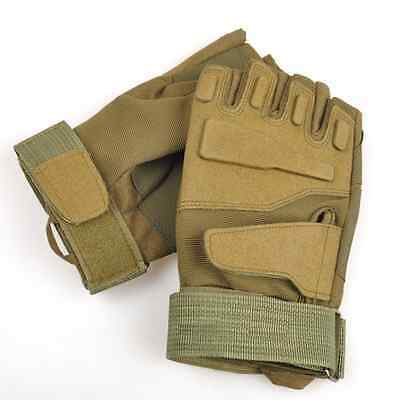 Outdoor Half Finger Glove Military Tactical Airsoft Hunting Riding Cycling