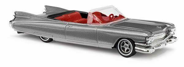 Busch 45121-1//87 H0 Cadillac Eldorado ´59 Metallica Silber Neu