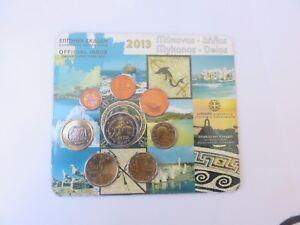 Coffret BU 1 Cent à 2 Euro Grèce 2013     CPS