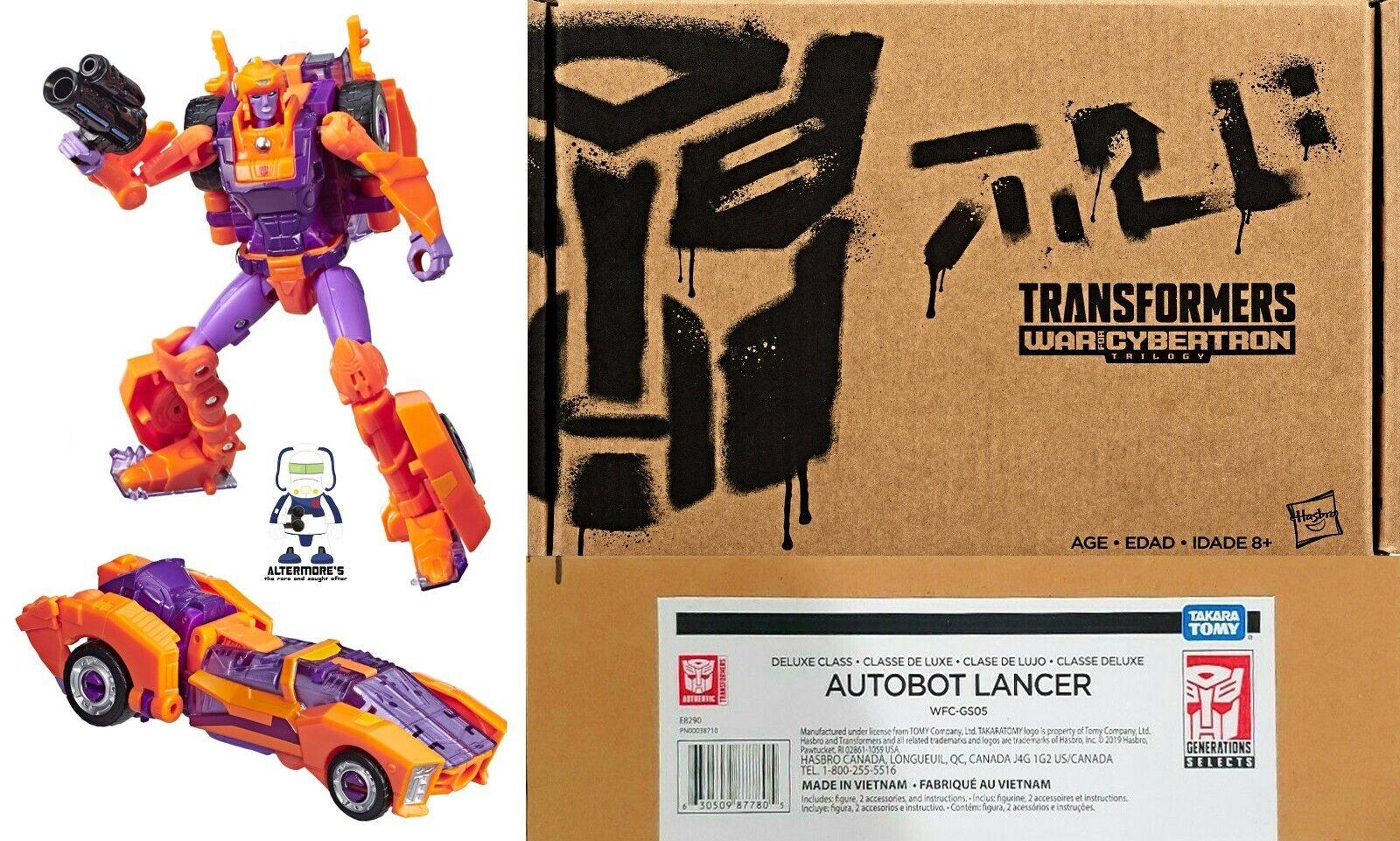 Transformers Hasbro generazioni Deluxe LANCER NUOVO IN SCATOLA SIGILLATA Select
