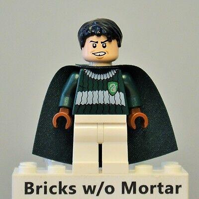 LEGO Harry Potter Minifig Marcus Flint Dark Green and White Quidditch Uniform