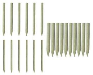 Lot de piquets de clôture en bois Bordures de jardin Bordure à ...
