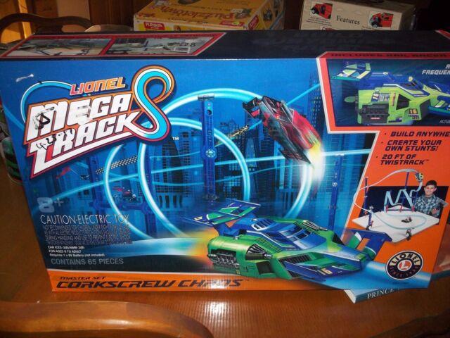 Race Track Toy Rail System Remote Control RC Car Twist Build Flexable  Racetrack