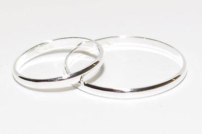 925 Silber - Eheringe - Trauringe - Partnerringe - Höchste Qualität - 2mm Breit Verpackung Der Nominierten Marke