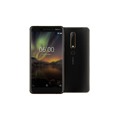 Nokia 6 (2018) DS Black 5 5