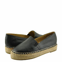 Women's Shoes Dollhouse Moment Closed Toe Espadrille Flat Black