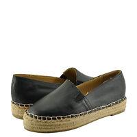 Women's Shoes Dollhouse Moment Closed Toe Espadrille Flat Black