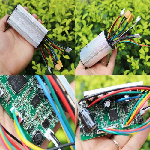 24V 250W DIY Kohlefaser Elektroroller Scooter Brushless Motor Speed Controller