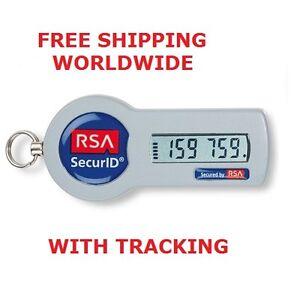 RSA Securid SID700-6-60-66 D2 Security Token Keyfob Expires 05/31/2017 W/O  SEEDS