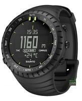 Suunto Core All Black Military Outdoor Smart Watch Ss014279010
