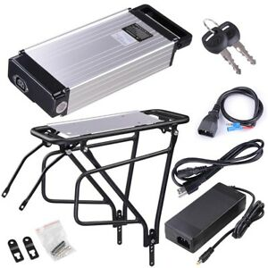 36V-14AH-Lithium-Battery-Rear-Rack-Li-ion-For-Electric-Bicycle-E-bike-Motor-Kit