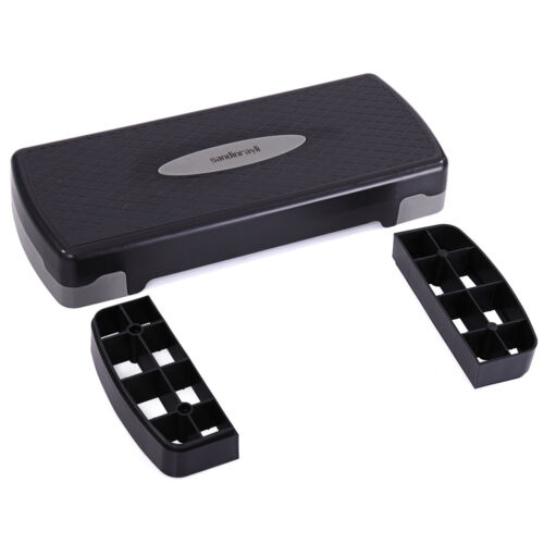 Aerobic Stepper 27″ Cardio Platform Fitness Step 4″ 6″ Workout Exercise Risers