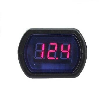 Motorhome etc 12 Volt  LED Voltage Display for Car Boat