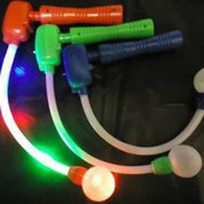 FLASHING SPINNING CIRCLE OF LIGHT WAND W BALL musical TOY novelty disco NEW