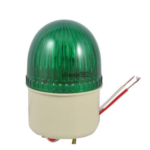 New Industrial Green Signal Lamp Buzzer Sound Alarm Warn Light DC 24V 10W