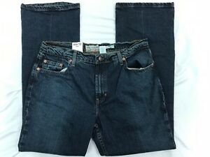57162fa87c2 Old Navy Womens Medium Dark Wash Boot Cut Jeans Size 12 Short New ...