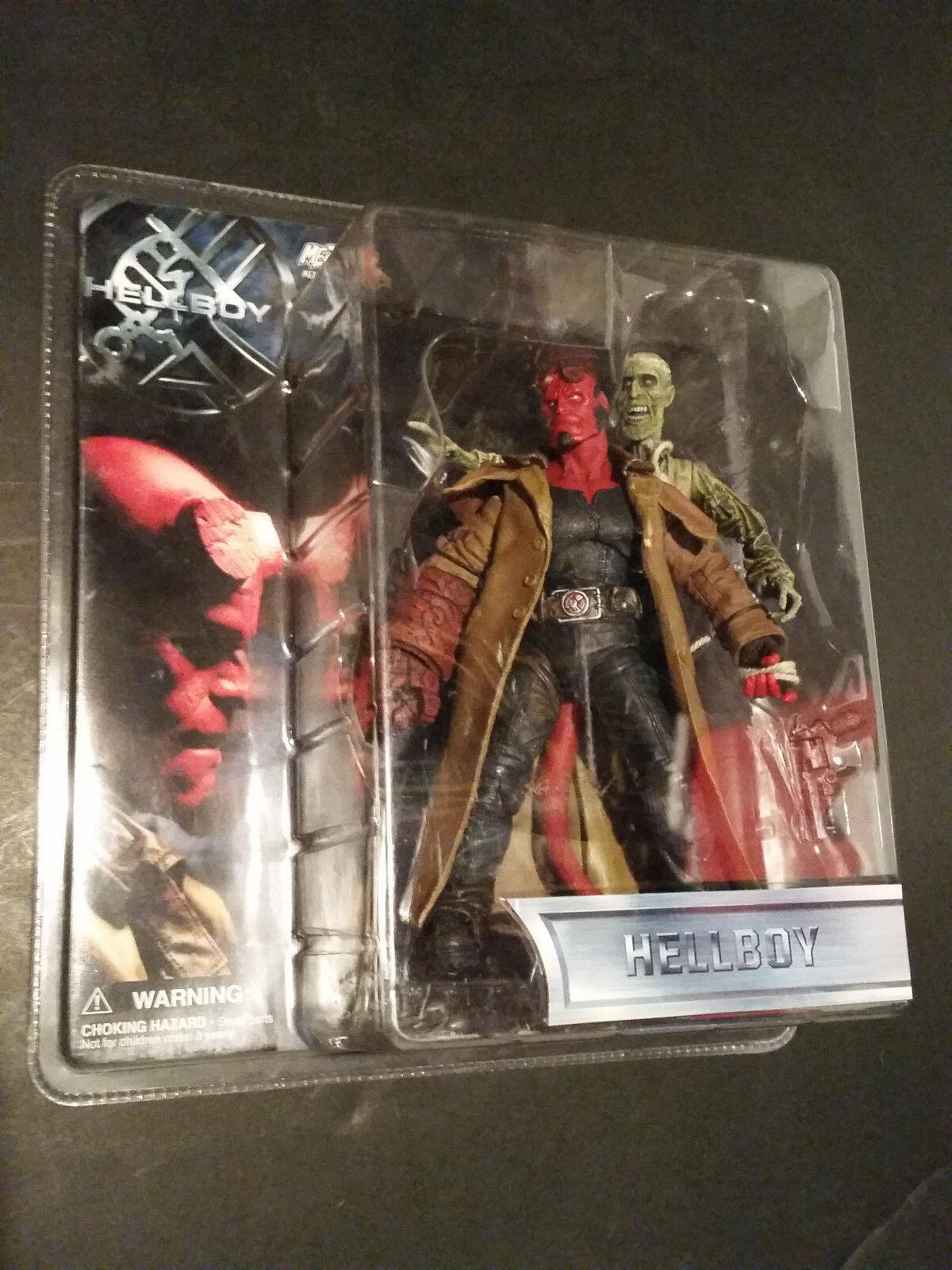 Película Hellboy Mezco Figura De Acción cadáver Zombie Mike Mignola presidente Ivan Ron