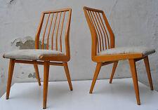 2 Stühle HABEO/Akerblom dining chair mid century Buche massiv 60s
