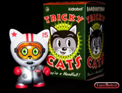 Kidrobot Tricky Cats Mini Series Mint Brand New in Box SpaceCat Tricky