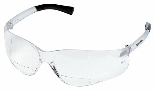 Crews BKH25 BearKat Magnifier Polycarbonate 2.5 Diopter Safety Glasses