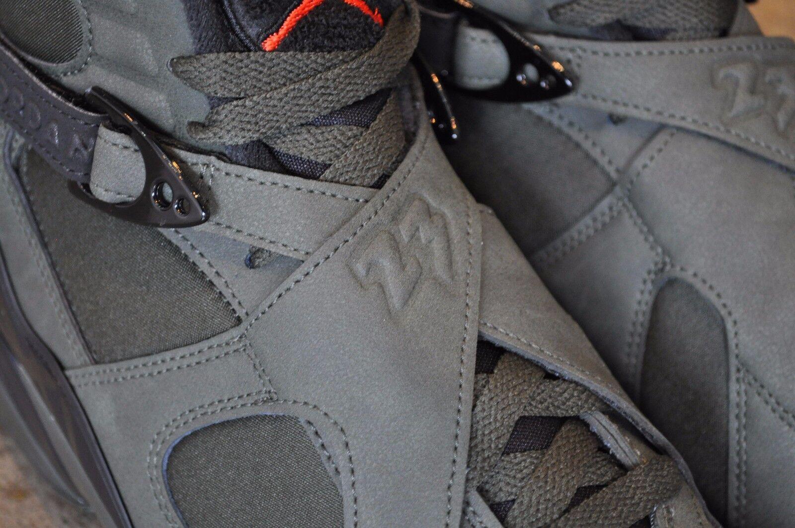 Nike Air Jordan Orange- 8 Retro