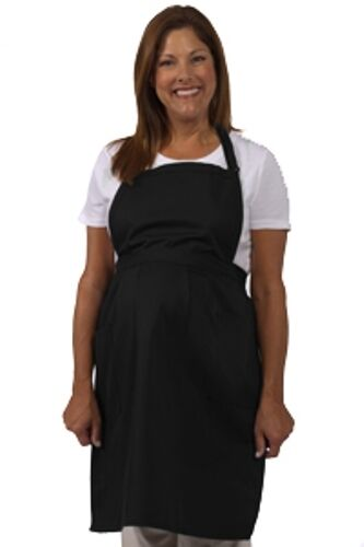 Fame Fabrics F80  Black Maternity Apron Brand New! Super Nice and Light