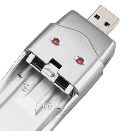 Mini USB Emergency Charger for Ni-MH AA AAA 2A 3A Rechargeable Battery DC 5V HMY