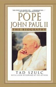 Pope-John-Paul-II-The-Biography-Paperback-by-Szulc-Tad-Brand-New-Free-P