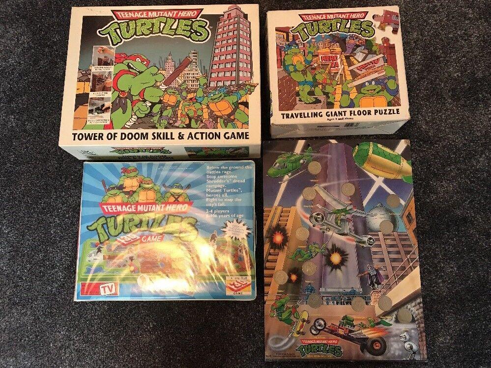 Gráfico de parojo vintage paquete tortugas, moneda, Juego, Rompecabezas