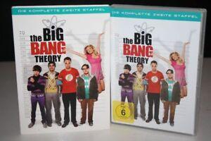 THE-BIG-BANG-THEORY-2-Die-komplette-ZWEITE-STAFFEL-auf-4-DVD-039-s-DVD-Pappschuber