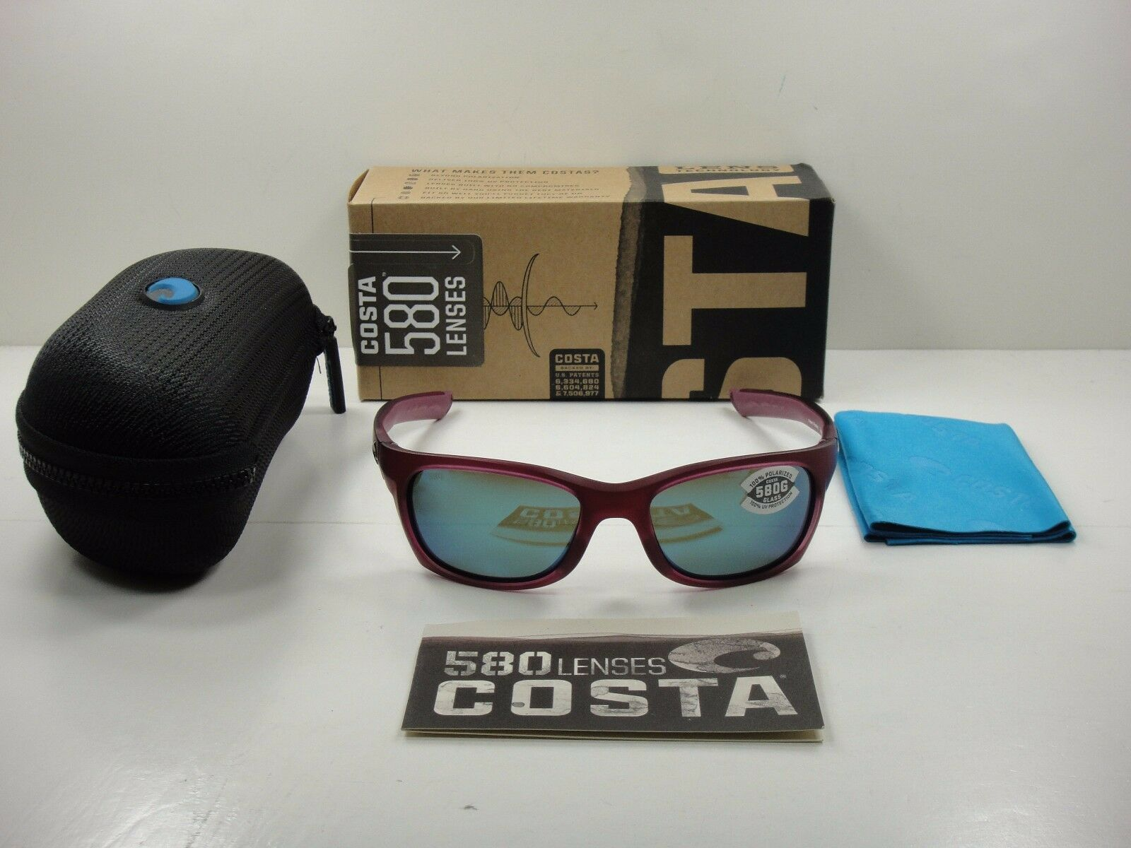 54479bcef1 Costa Del Mar Trevally GT 49 Matte Orchid Sunglasses Grey 580g