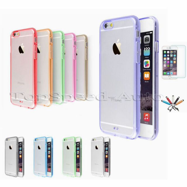 For Apple iPhone 6/6S Plus Case Slim Transparent Crystal Clear Hard TPU Cover