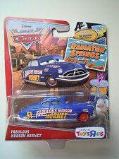 Cars DOC FABULOUS HUDSON HORNET Disney Pixar Mattel SODDISFATTI O RIMBORSATI