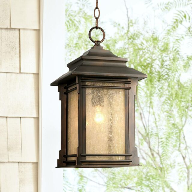 Hickory Point Hanging Outdoor Light