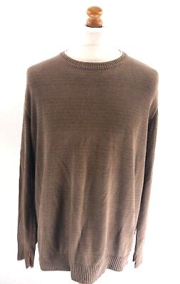 Fat Face Mens Jumper Sweater Xl Brown Cotton Im Sommer KüHl Und Im Winter Warm