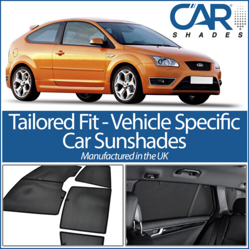 Ford Focus 3dr 2004-2011 CAR WINDOW SUN SHADE BABY SEAT CHILD BOOSTER BLIND UV