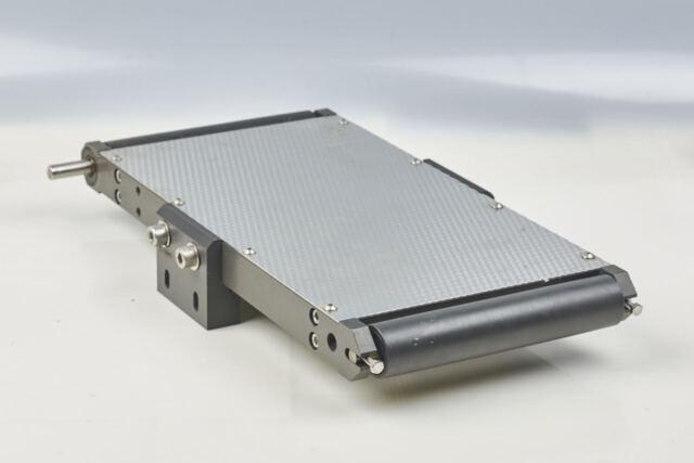 Precision Conveyor 375 x 180mm Frame Hardened Aluminum, Conv Top Stainless Steel
